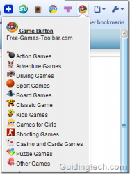 Game Button screenshot