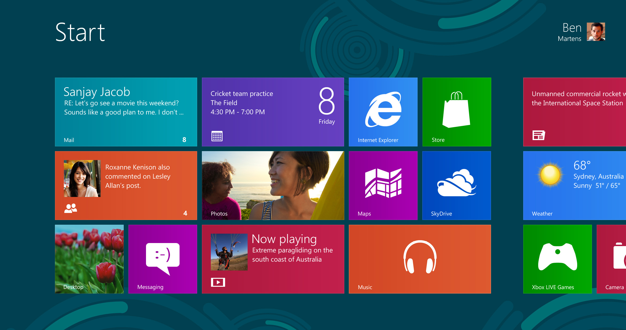 Windows 8 Function Found